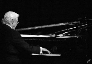 Tommy Banks at piano